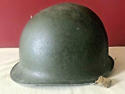 $51 • Buy Vintage WWII Wartime US Army M1 Front Seam Helmet Swivel Bale And Liner