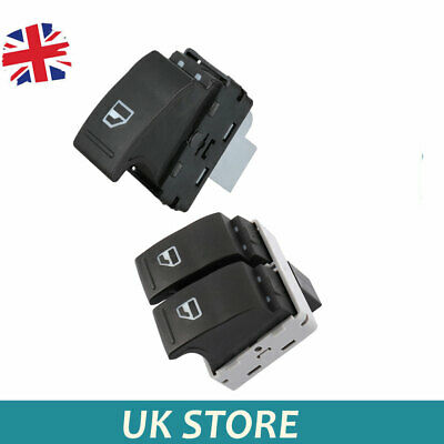£9.99 • Buy For VW Transporter T5 T6 2005-2014 Electric Window Switch Front Left & Right Kit
