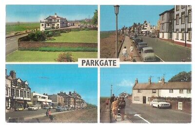 £1.50 • Buy Multiview, PARKGATE, CHESHIRE Used Vintage Postcard 1976 Pm
