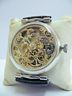 £81 • Buy HIGH GRADE STYLE CYMA SWISS SKELETON Wristwatch *SERVICED* NO RESERVED PRICE!!!