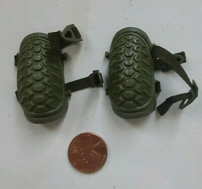 $22.95 • Buy 1/6 Scale USMC M249 Saw Gunner Green Knee Pads For 12  Action Figure L-316