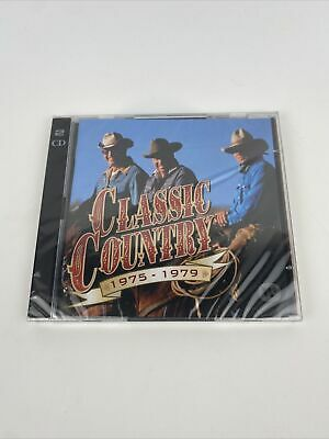 £4.20 • Buy Various Artists - Classic Country: 1975 - 1979 (2CD) ... Time Life *NEW SEALED*