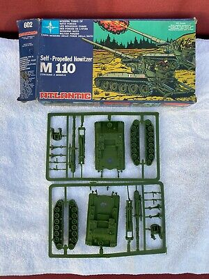 $44.99 • Buy Atlantic Toys, Vintage #602, M-110 Self Propelled Howitzer 1/72 Boxed Open  Nos!
