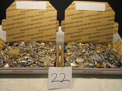 $ CDN79.16 • Buy Vintage To Now Estate Find Jewelry Lot,  JUNK DRAWER  Unsearched  2 Lots AS IS