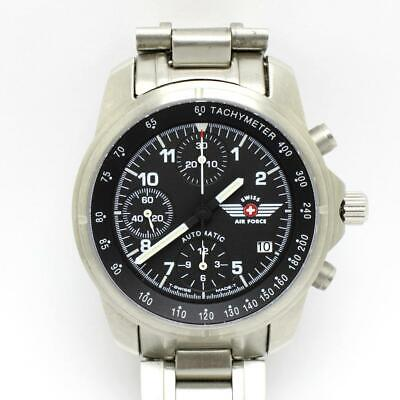 £363.59 • Buy Victorinox Swiss Army Air Force 9G-600 Automatic Chronograph Watch Valjoux 7750