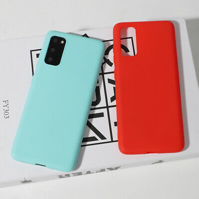 AU7.99 • Buy Extra Thin Slim Soft TPU Gel Protective Case Cover For Samsung Galaxy S10 S9 S8+
