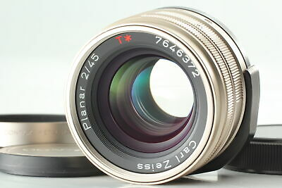 $ CDN487.21 • Buy [MINT]  Contax Carl Zeiss T* Planar 45mm F2 AF Lens For G1 G2 From Japan