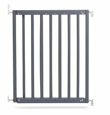 £53.58 • Buy Safetots Chunky Wooden Screw Fit Stair Gate (Medium, Grey)