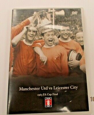 £12.99 • Buy 1963 FA Cup Final - 1963 Final Manchester United V Leicester City DVD, Boxed.