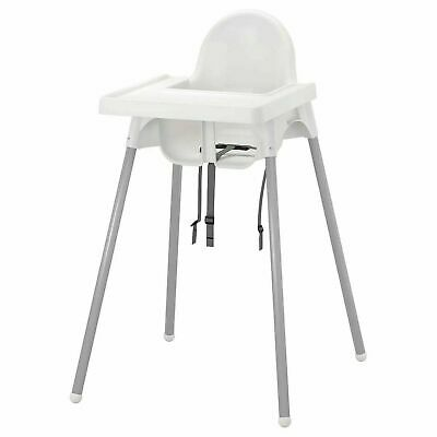 £25.91 • Buy IKEA ANTILOP Baby Children High Chair With Safety Belt Feeding Tray Chair White