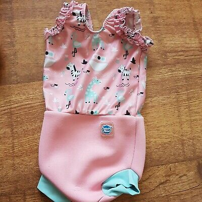 £4.50 • Buy Baby Girl Swimming Costume Splash About Small Size 0 - 3 Months