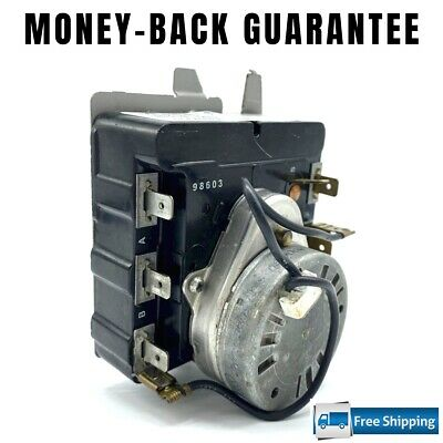 $49.95 • Buy 572D520P021 M460-G REFURBISHED GE Dryer Timer   Guaranteed   FAST Shipping