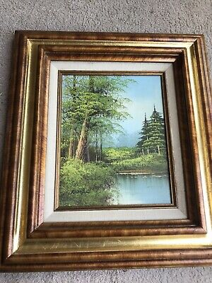 £29.99 • Buy Hand Painted Signed Landscape Painting