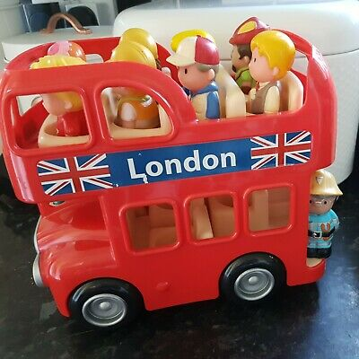 £9.99 • Buy ELC Early Learning Centre Happyland London Bus With Sound & Figures