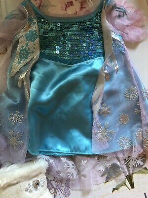 £5 • Buy Build A Bear Disney Princess Elsa (Frozen) Dress And Crown And White Fur Boots