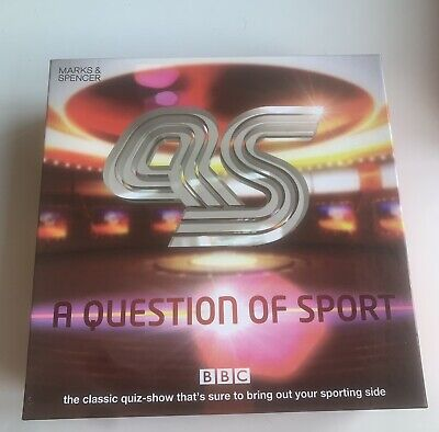 £30 • Buy A Question Of Sport Board Game Marks And Spencer