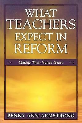 £29.71 • Buy What Teachers Expect In Reformpb BOOK NEW