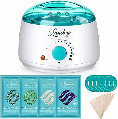 £9.99 • Buy Home Waxing Kit For Women Lansley Painless Wax Warmer Hair Removal Wax Kit With