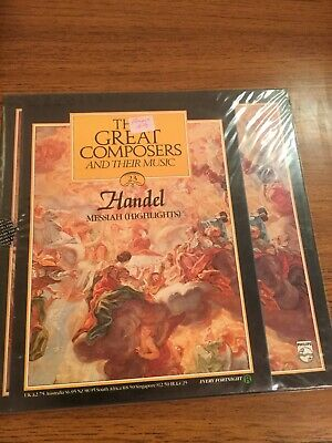 £6 • Buy The Great Composers - 23 - Handel - Messiah - Vinyl LP With Booklet