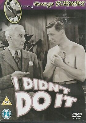 £1.99 • Buy I Didn't Do It DVD (2011) George Formby