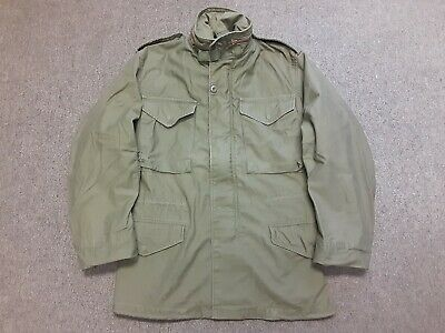 $29.99 • Buy VTG Alpha Industries US Army Military M65 Cold Weather Field Jacket OG107 XS XSR