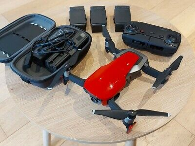 AU400 • Buy DJI Mavic Air Fly More Combo 4K Drone - Red, 4 Batteries Charge Hub