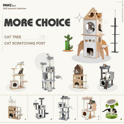 AU29.90 • Buy Cat Tree Scratching Post Scratchers Condo House Tower Cat Climbing Gym Furniture
