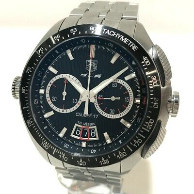 £1912.86 • Buy TAG HEUER CAG2010 Mercedes-Benz SLR Caliber 17 Wristwatch SS Silver