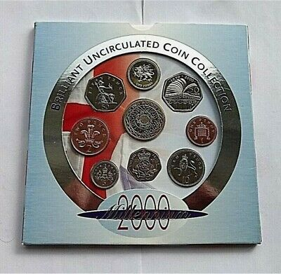 £9 • Buy Millenium Brilliant Uncirculated Coin Collection, Excellent Condition. 9 - Coins