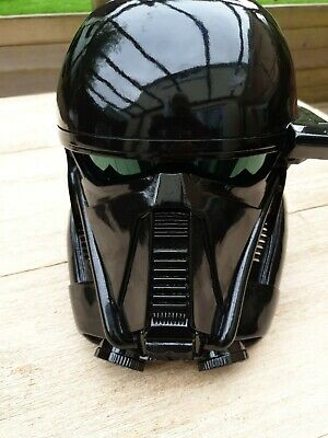 £65 • Buy Star Wars Rogue One Death Trooper Cosplay Helmet. Pre-owned, Excellent Condition
