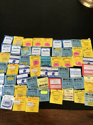 £5 • Buy Watch Parts - 59 X Packets Of Mineral Glass Watch Glasses - Lots Of Sizes # 27