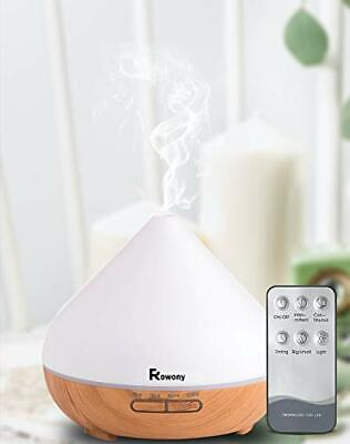 AU52.71 • Buy Rowony 500ml Essential Oil Diffuser With Remote Control For Aromatherapy.