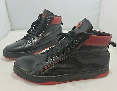 £40 • Buy Gucci Leather Boots Hi Tops Trainers Sneakers Shoes UK 8  EU 41