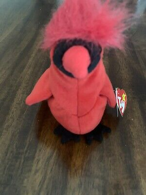$325 • Buy TY Beanie Baby Extremely Rare Mac The Cardinal Red W/Tag Errors Collectible