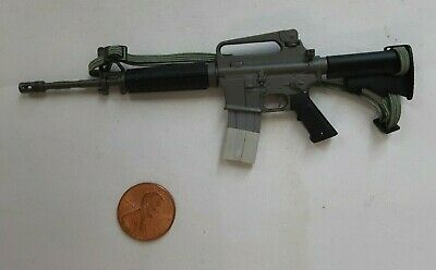 $24.95 • Buy Dragon 1/6 Scale M-4 With Solid Carry 1980's Delta Handle For 12  Figure L-326