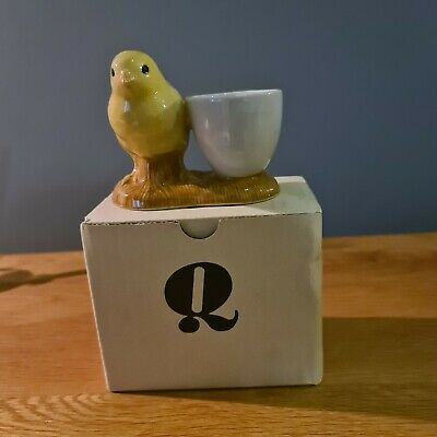 £3.40 • Buy Quail Ceramic Chick With Egg Cup - Boxed
