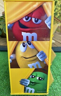 $14.99 • Buy M&M CANDY 3 TIERED STORE DISPLAY Plastic Advertising