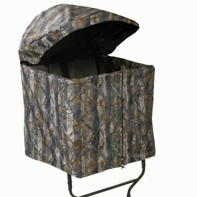 $123.99 • Buy Millennium B1 Tree Stand Blind Fits All L-Series Ladder Stands Camo - Open Box