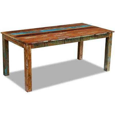 AU515 • Buy Dining Table Solid Reclaimed Wood 180x90x76 Cm