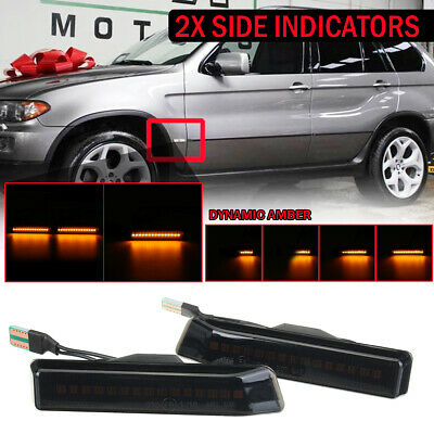 $17.92 • Buy L&R Dynamic LED Side Marker Turn Signal Light Fit For BMW 3 Series 97-98 M3 X5