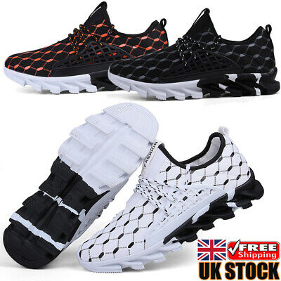£17.99 • Buy Mens Sneakers Arch Support Comfort Trainers Walking Wear Resistant Running Shoes