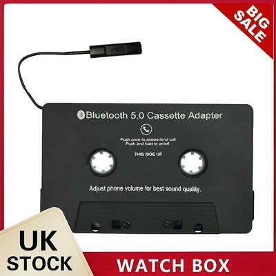 £12.20 • Buy Bluetooth Converter Car Tape MP3 SBC Stereo Audio Cassette Adapter With Mic