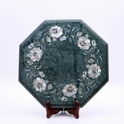 AU648.09 • Buy Marble Inlay Coffee Custom Table Top Mop Marquetry Floral Design Handmade Décor