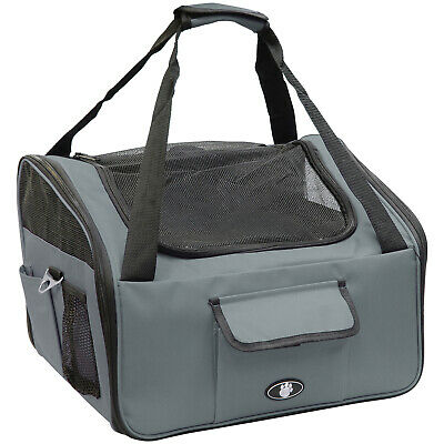 £9.99 • Buy Me & My Pets Grey Dog/puppy/cat Car Travel/safety Seat Carry Crate/carrier Bag