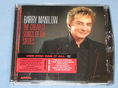 £3.50 • Buy BARRY MANILOW The Greatest Songs Of The Sixties (CD / DVD 2006) DUALDISC