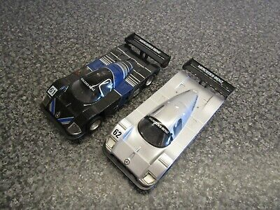 £14.99 • Buy 2 X Scalextric Hornby Mercedes Slot Cars #61 & #62, Checked And Working