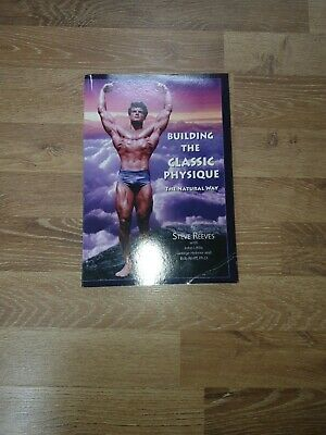 £100 • Buy Steve Reeves Building The Classic Physique Book