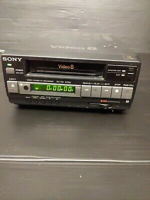 $ CDN173.38 • Buy  SONY  EV-C3 Video8 8mm VCR Editing Player Power On Untested As Is.sw6