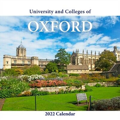 £11.57 • Buy Oxford Colleges Large Calendar 2022