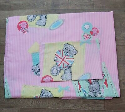 £2.40 • Buy Me To You(Tatty Teddy)Single Duvet Cover And Pillow Case.